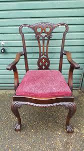 vine chippendale style desk chair jpg