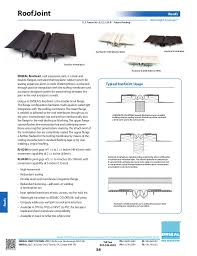 Emseal Expansion Joint And Precompressed Sealant Catalog For