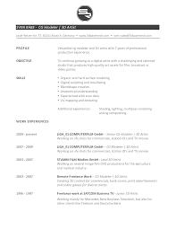 Example Of Artist Resume Sample Artist Resume 8 Examples In Word