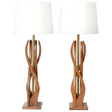modern wood lamp wood lamp beautiful mid century modern danish style teak wood table lamps at modern wood