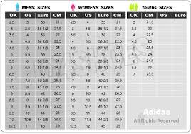 adidas sizing chart adidas sizing chart world of printables
