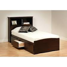 Wood Bed Frame Twin Twin Platform Storage Bed With Headboard In Twin ...