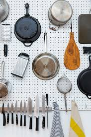 Kitchen Pegboard How To Organize Absolutely Everything In Your Itty Bitty Space