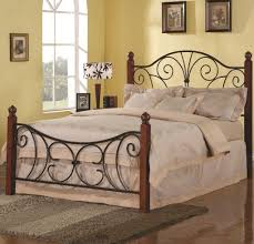 wood headboards | Headboards >> Iron Beds and Headboards Queen Wood with  Metal Headboard .