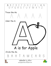 Worksheet Of Letter A Worksheets for all   Download and Share ...