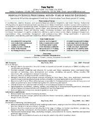 restaurant objective for resume hospitality resume objective hospitality resume hotel sales manager