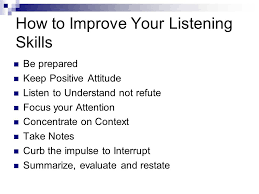 listening skills ppt video online how to improve your listening skills