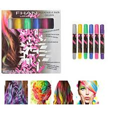 hair chalks hair chalk pastels colored chalk coloring art hair color dye pastels stick crayons