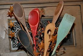 Primitive Kitchen Decorating Dollar Store Spoons Turned Primitive Kitchen Decor Eyeballs By