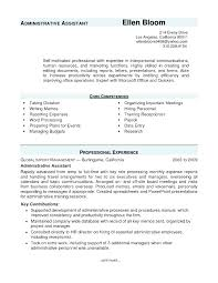 Admin Resume Objective Objective For Resume Administrative Assistant Administrative