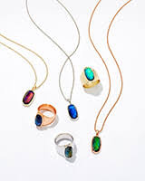 Mood Necklace Chart Leah Mood Ring In Gold 7 Kendrascott
