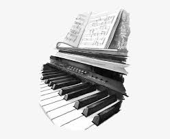 66 18 pared de ladrillo. Piano Dibujo Blanco Y Negro Png Image Transparent Png Free Download On Seekpng