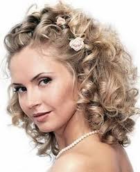 Beau Nouvelle Coiffure Cheveux Boucles Mi Long Mariage