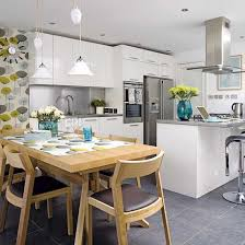 open kitchen dining room designs. Kitchen And Breakfast Room Design Ideas With Exemplary Dining Open Plan Photos Designs I