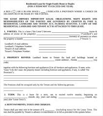 Simple Rental Agreement Florida Template Apartment Lease Agreement