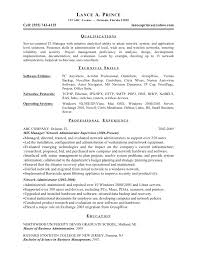 it manager resume example information technology operations it manager resume examples