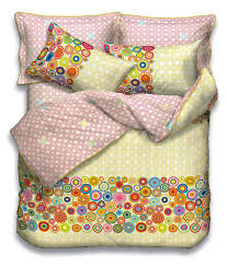 espirit multi coloured duvet cover for double bed yb4