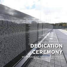 Image result for 1982 Vietnam Veterans Memorial dedicated