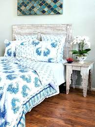 blue and white striped bedding peacock tales navy bedspread b