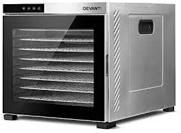 DEVANTi Commercial <b>Food Dehydrator 10</b> Trays 304 Stainless ...