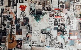 uo diy arranging wall art with tessa