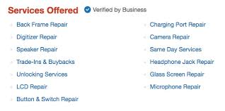 jrs iphone repairs services yelp