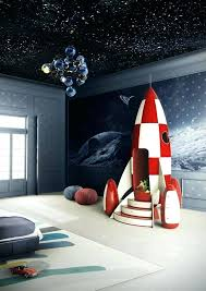 unbelievable outer space bedroom featuring a rocket ship club house wow kids decor room ideas small toddlers bedroom ideas boy boys space