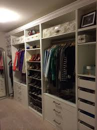 office closet storage. ikea pax in the master closet look at crown molding will do next office storage e
