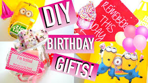 DIY Birthday Gift Ideas! | Easy & Affordable  | Quick, Cute, Simple -  YouTube