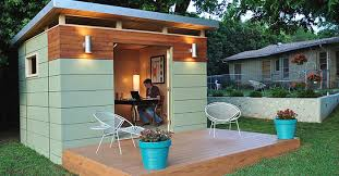 Introducing U201cShedquartersu201d The Hot New Trend HomeBased Business Owners Are Drooling Over