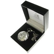 end st christopher pocket watch in a quality presentation box boy christening gift christening