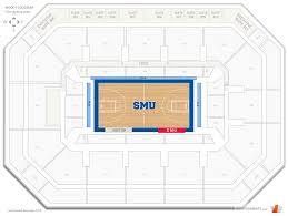 Moody Coliseum Smu Seating Guide Rateyourseats Com
