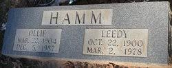 Ollie Deaton Hamm (1904-1987) - Find A Grave Memorial