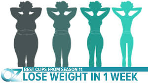 How to Lose Weight in Just One Week - Season 11 Best Videos - YouTube