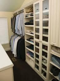 walk in man s closet with shoe shelf
