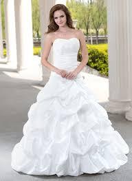 ball gown sweetheart chapel train taffeta wedding dress with