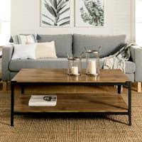 There are few materials that have the elegance and strength of solid oak. Buy Coffee Tables Bookshelves Bookcases Online At Overstock Our Best Living Room Furniture Deals