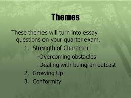 speak by laurie halse anderson themes these themes will turn  themes these themes will turn into essay questions on your quarter exam