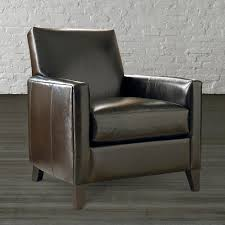 Leather Accent Chair With Ottoman Leather Accent Chairs For Living Room Trends And Chair With