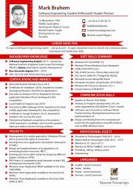 Resume Modern Cheap Most Updated Resume Format Image Ideas Of