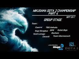 live dota 2 wikusama dota 2 championship season 4 venti lenogo 1