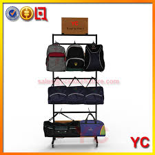 Apparel Display Stands Inspiration Metal Travel Backpack Rack YC Store Fixture Provide Clothing
