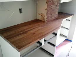 butcher block countertop care and maintenance wood kitchen counters pros cons