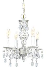 enchanting antique white chandelier 4 lights antique white mini crystal chandelier antique white chandelier home depot