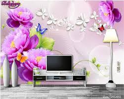 beibehang home decorative wallpaper fantasy silk rose aesthetic