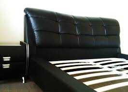Queen Size Bedroom Furniture Black Leather Queen Size Bed Bedroom Furniture