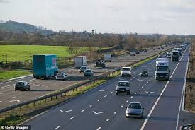 Man killed after being hit by car on M5 - as motorway near ...