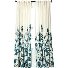 target curtain threshold climbing vine curtain panel teal blue a liked on featuring target curtains grey