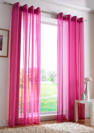 Exceptional Cerise Pink Net Curtains