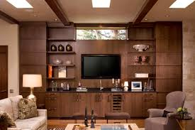 Wall Hung Cabinets Living Room Cute Contemporary Ranch House Remodel Contemporary Living Room